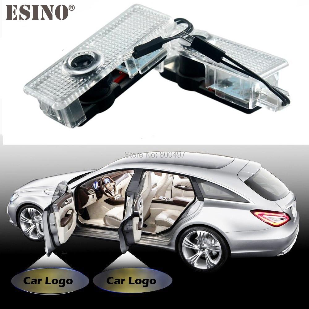 2 х автомобилей светодиодов логотип свет двери Добро пожаловать лазерный проектор света Добро пожаловать свет для Ленд Ровер рейндж Ровер Фрилендер Дискавери Evoqu