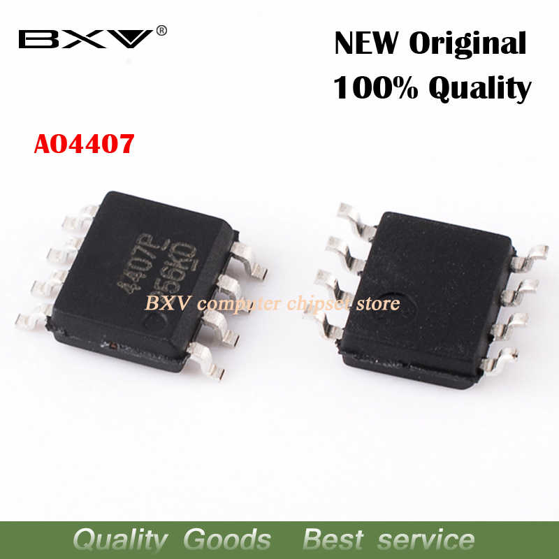 10 stücke AO4407 4407 AO4407A 4407A MOSFET SOP-8 neue original Kostenloser versand