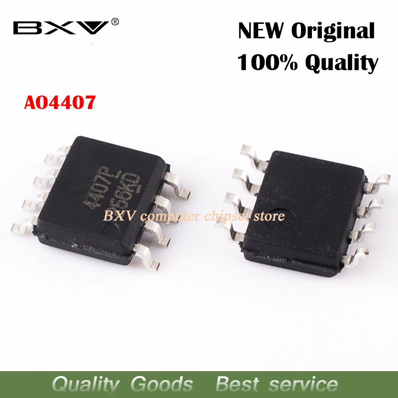 20PCS 4407 AO4407 SOP8 P-Channel MOSFET IC Good Quality