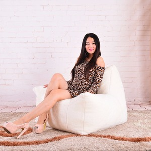 Image 3 - כסא שקית שעועית ספה כיסאות מושב סלון ריהוט ללא מילוי עצלן מושב זאק הפופים Levmoon פוף כיסא פגז