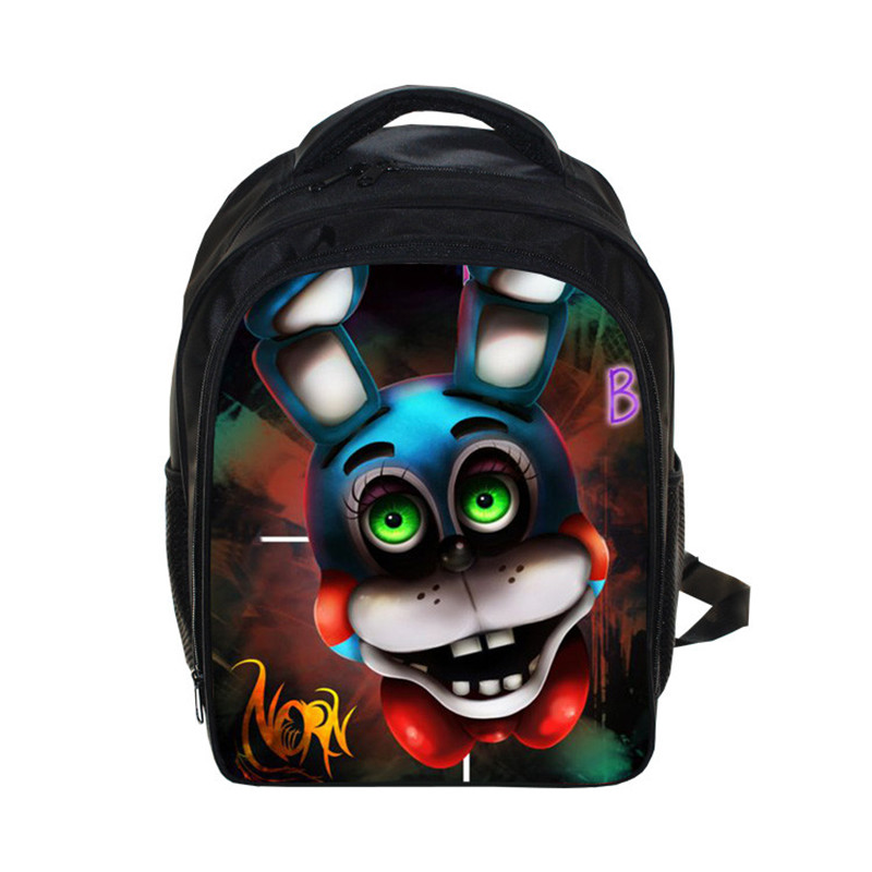 Anime FNAF Backpack Kids Five Nights At Freddys Backpacks Children Book Bag Boys Girls School Bags Daily Backpack Best Gift Bag minions ninja mini messenger bag children cute animal dog cat horse printing school bags boys kids book bag for snack best gift