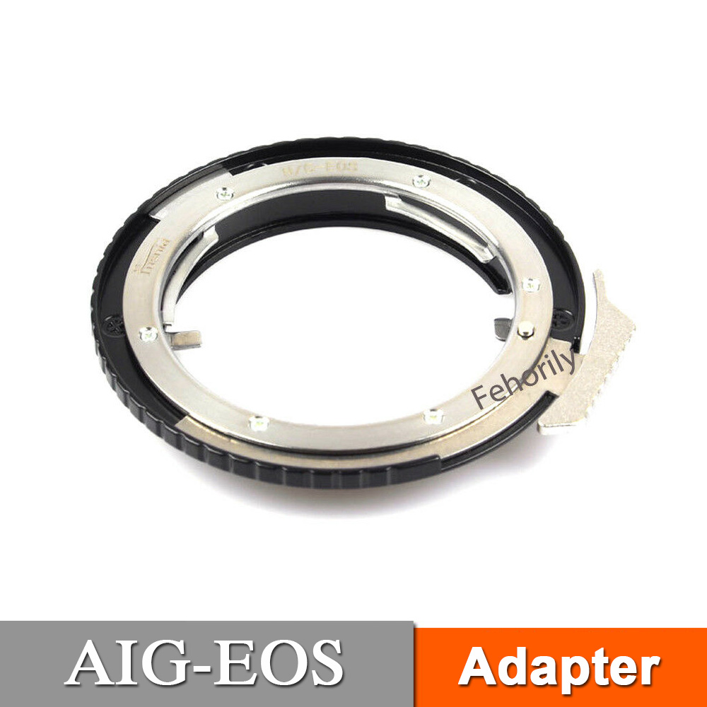 AI G EOS Adapter for AI Mount AFG Lens to EOS 5D3 5D4 70D Camera in Lens Adapter from Consumer Electronics