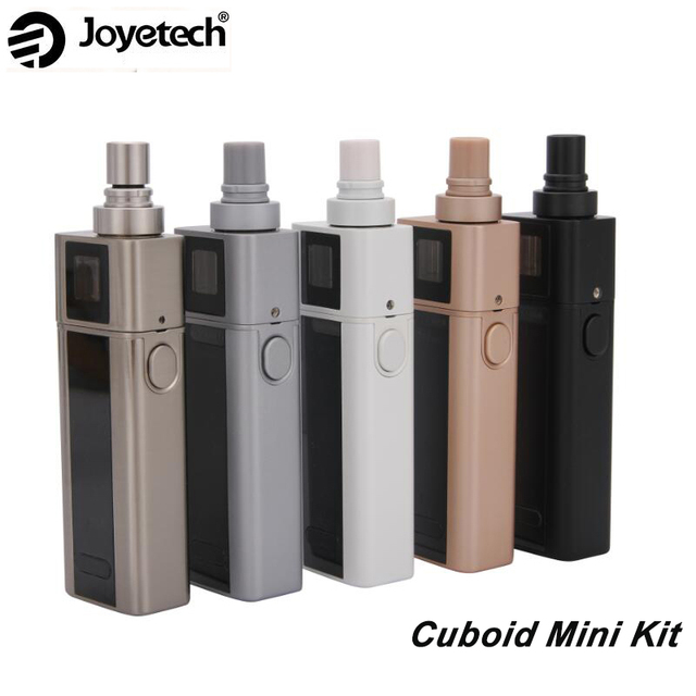Original Joyetech Cuboid Mini Kit Cuboid Mini 80W Mod Vape With 2400mah  battery and Cuboid Mini
