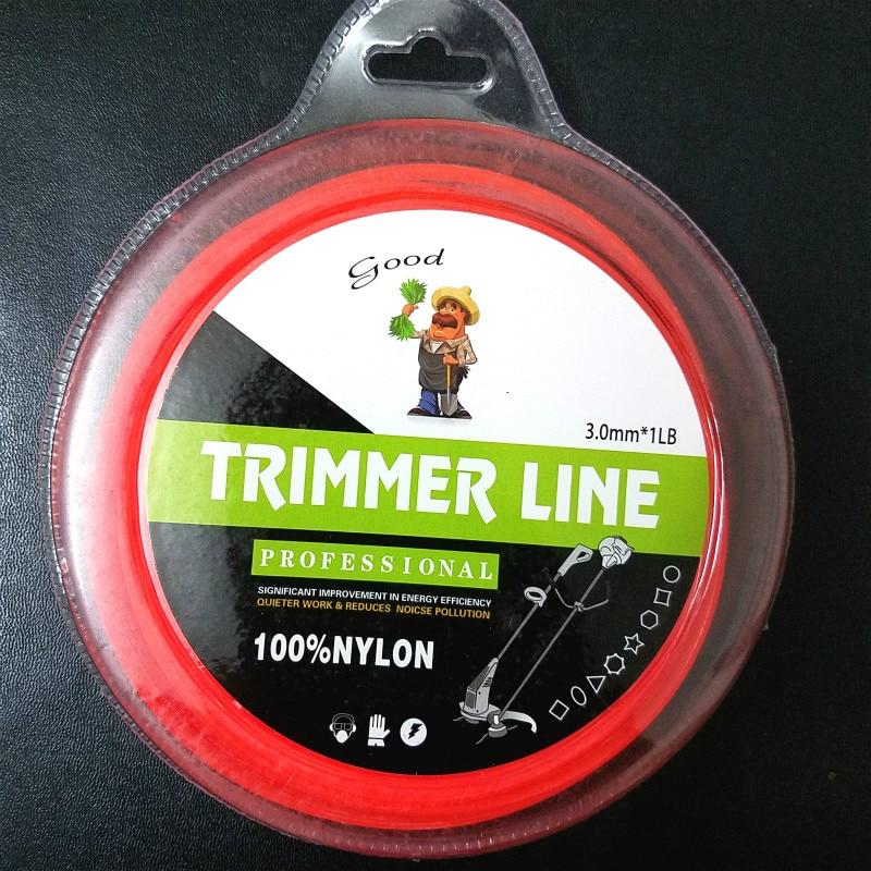 2019 2.4mm X 1LB Round Model Mowing Nylon Line Strimmer Trimmer Wire Grass Trimmer