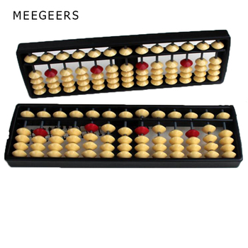 13 Rods Abacus Soroban Beads Column Kid School Learning Aid Tools Math Business Chinese Traditional abacus Educational toys