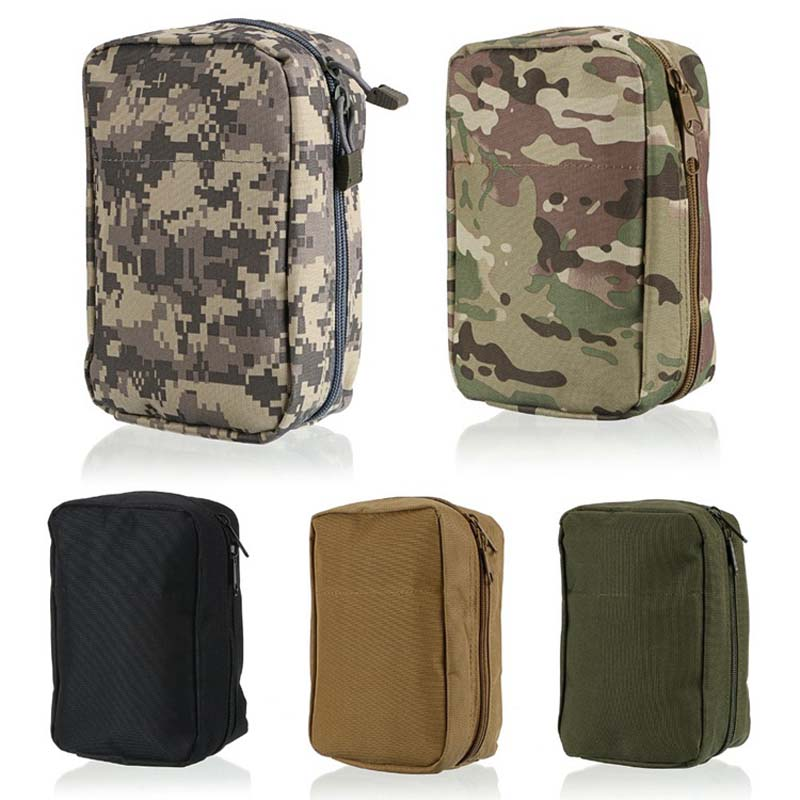 New Airsoft Molle Army Tactical Medical First Aid Pouch Nylon Waist Bag shop BB55