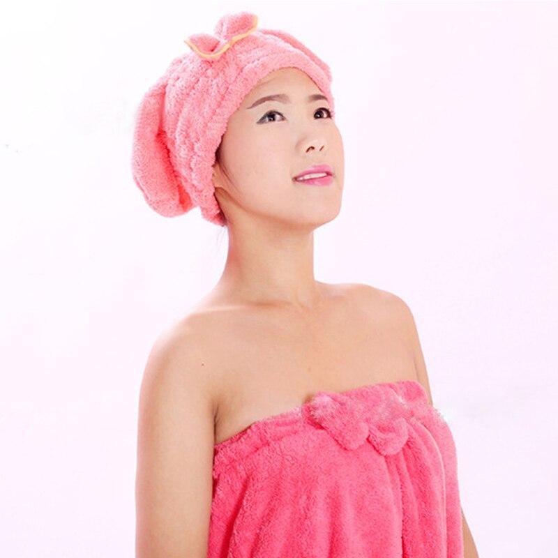 Lady's Magic Hair Drying Towel 4
