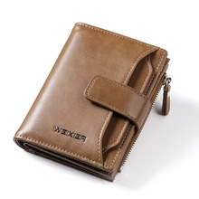 New Fashion Brand Wallet Men Leather Men Wallets Purse Short Male Clutch Leather Wallet Mens Money Bag Quality стоимость