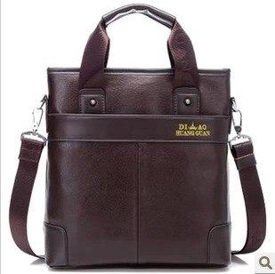 ФОТО new arrival fashion genuine leather men shoulder bags, brand design man leather messenger bag ,male business bag briefcase