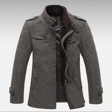 2015 hohe qualität herren winter jacke mantel jacke warmen mantel jacke winddichte jacke nähen Schlank (neu hinzugefügte Hinzufügen Baumwolle)