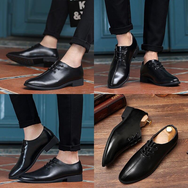 Até Dos Couro black Homme Pu Venda Quentes 39 Novos 44 Calçados Rendas De Orange Preto Chaussures Tamanho Oxfords Homens Sapatos Casuais Primavera FgqcAYpwc7