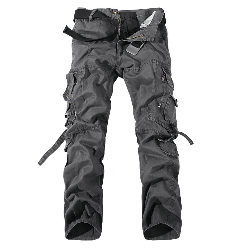 2020 New Army Military Camouflage Overalls Bags Pants Overalls Big Yards Men Camo Combat Work Trousers Overalls