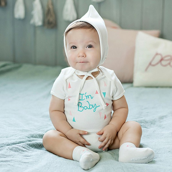 Baby Girls Boy Infant Toddler Short Sleeve Printed Letter Casual Jumpsuit Romper Outfits Clothing
