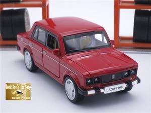 Image 4 - 15CM Rusia LADA 2106 Diecast modelo coche, coche de Metal, niños juguetes de regalo con puerta de fácil apertura/Pull Back función/música/luz