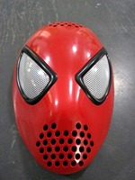 Hot selling Cosplay Costume Silica gel marvel bounce spider man face shell mask for adults or children 1 pc