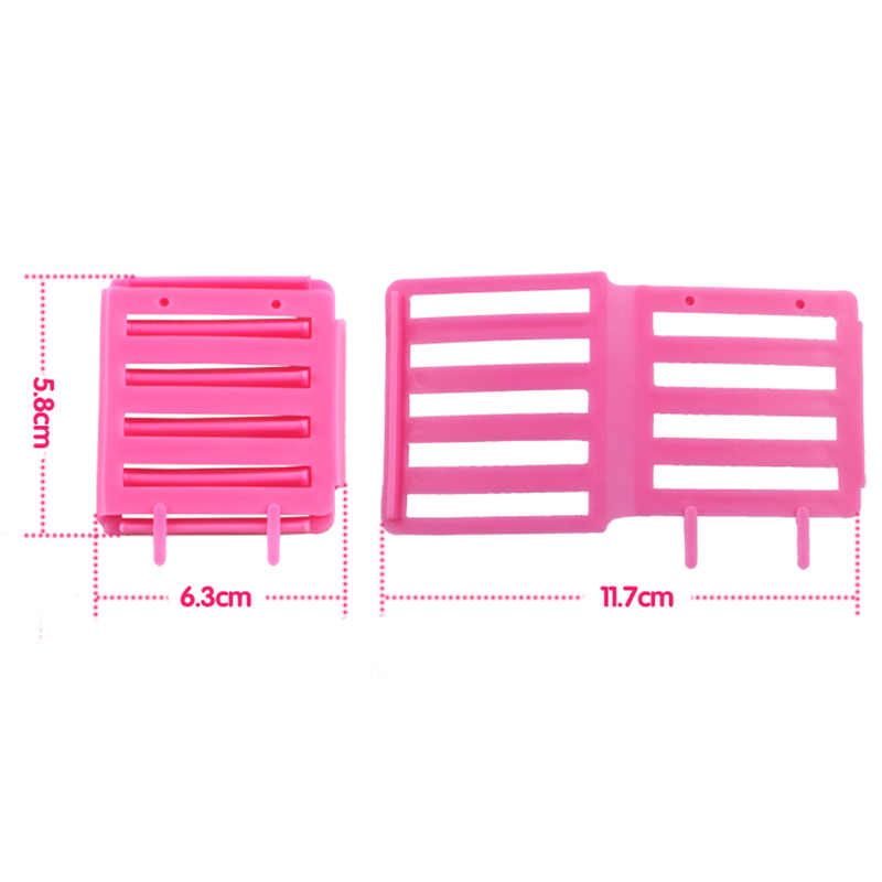 3pcs DIY Corn Hair Clip Curler Maker Women's Beauty High Quality Hairdressing Styling Wave Perm Rod Tool Color Random