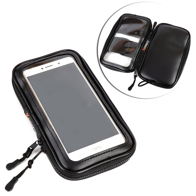 For Harley Touring Motorcycle Magnetic Tank Bag 5 Saddle Iphone6 6s Plus