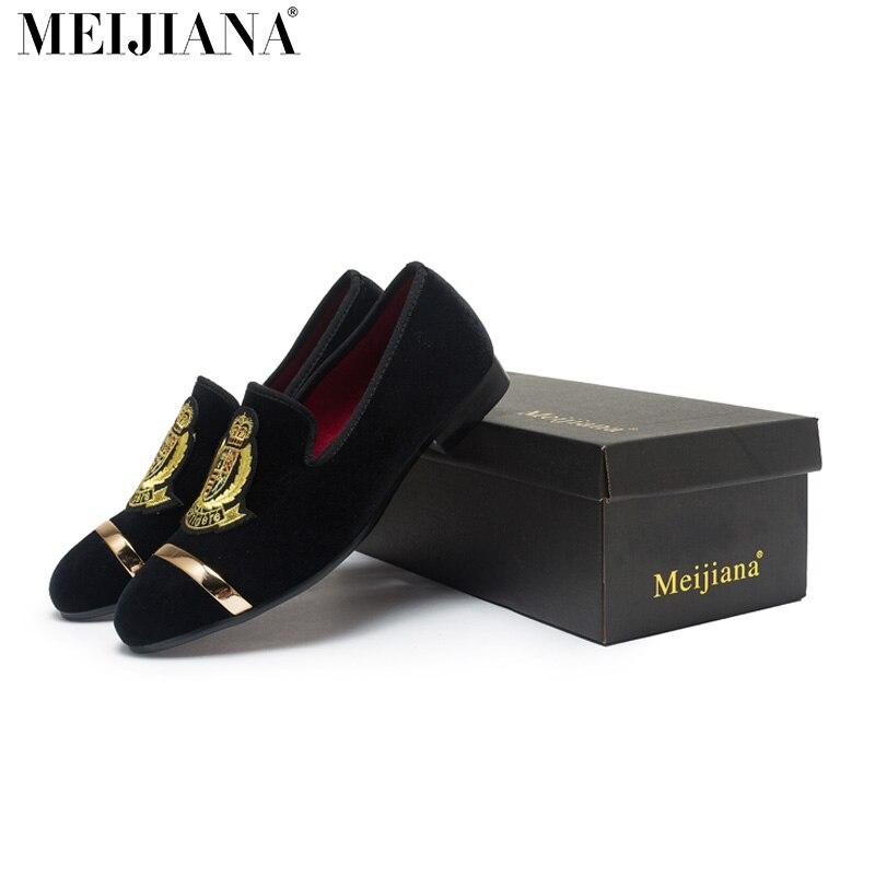 MeiJiaNA мужчины свободного покроя обувь бренда мода удобные дышащий мужской обуви