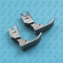 Industrial Sewing Machine Standard Hinged Plain Presser Foot 24983 P35 2PCS