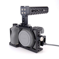MAGICRIG DSLR Camera Cage Kit Stabilizer + Top Handle Grip for Sony A6000/ A6300/ A6500/ ILCE 6000/ ILCE 6300 NEX7 503