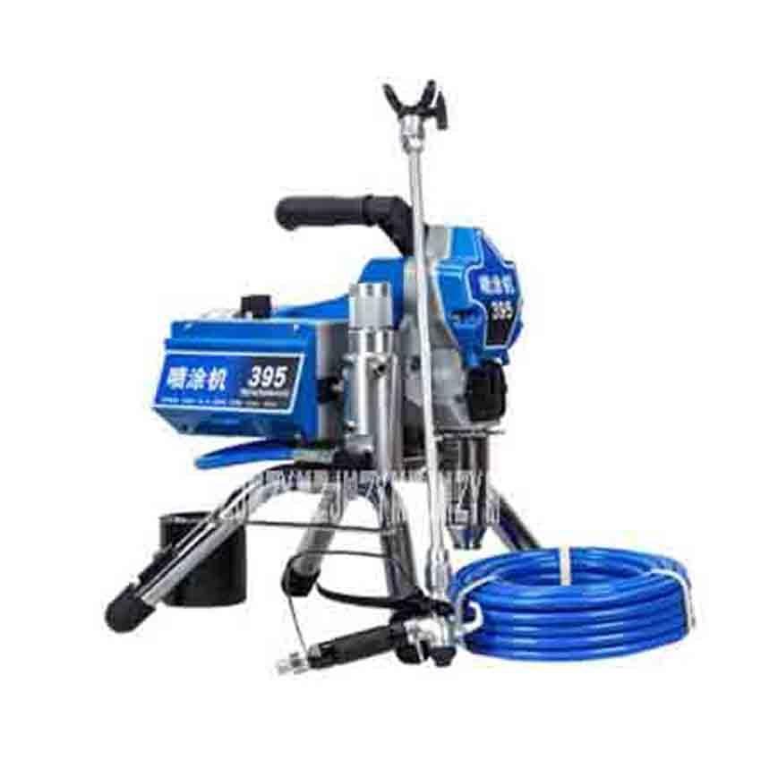 Humorous New Professional 395 High Pressure Airless Spraying Machine Electric Latex Paint Painting Machine 220v 2200w 2.5l/min 3000psi Spray Guns