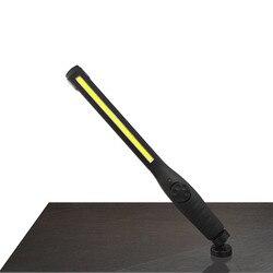 2018 tragbare Cob Licht 410 Lumen USB Aufladbare COB LED Dünne Außen Notfall Auto Arbeit Licht