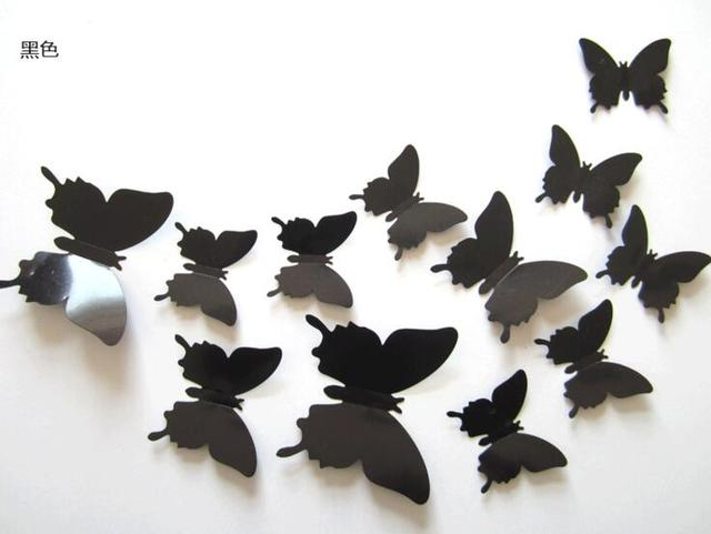 3D Butterfly Decal Wall Sticker for Home Decor