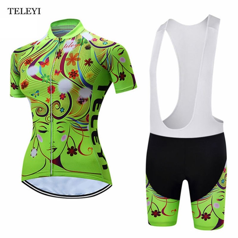 2017 Summer Breathable Mountain Pro Woman Cycling Jersey Shorts Sleeve Short Sleeve Girl Bike Clothing Bike Cycling Cycle Cloth women s cycling shorts cycling mountain bike cycling equipment female spring autumn breathable wicking silicone skirt
