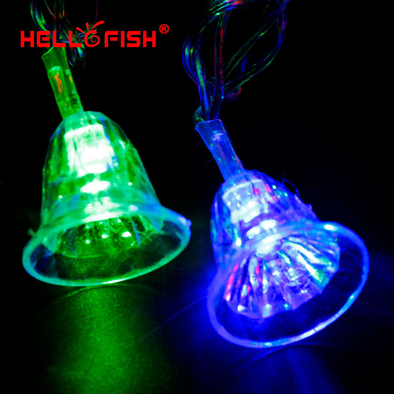 Online buy wholesale fish lights string from china fish for Fish string lights