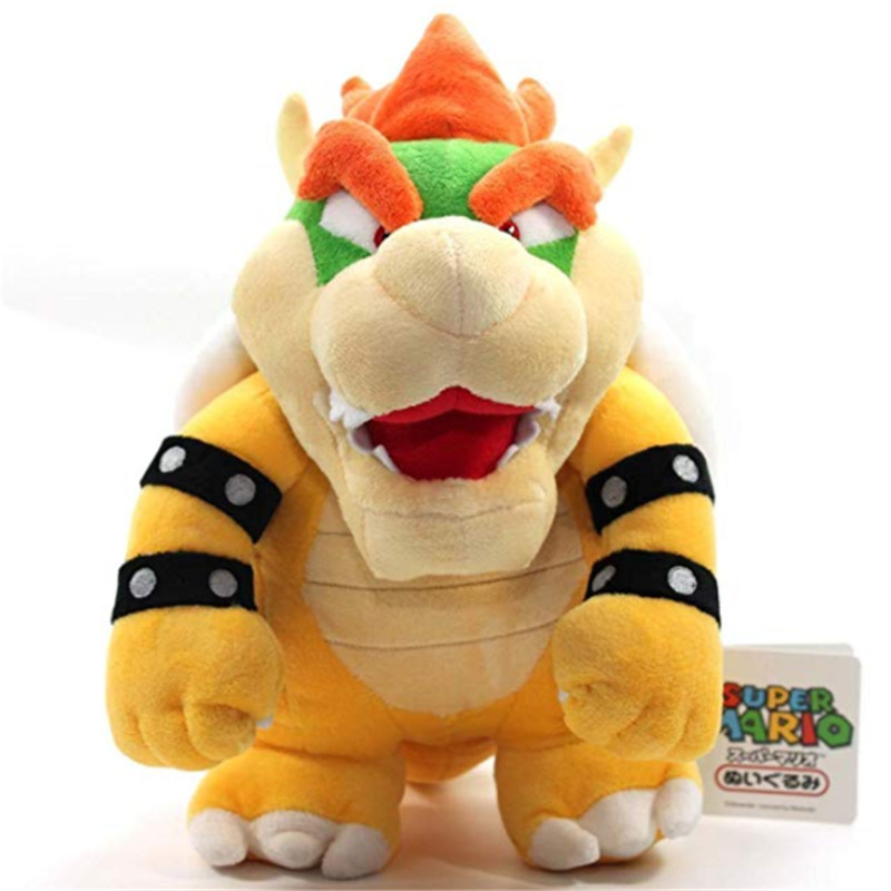 Mario Bros Bowser Plush 10 39 39 Super Mario Collectors Plushie Toy 10 Inch Tall PRIME Edition 25cm Stanard Toys Great Gift in Movies amp TV from Toys amp Hobbies