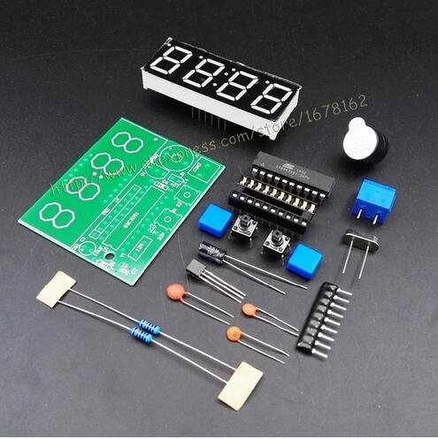 High Quality C51 4 Bits Electronic Clocks