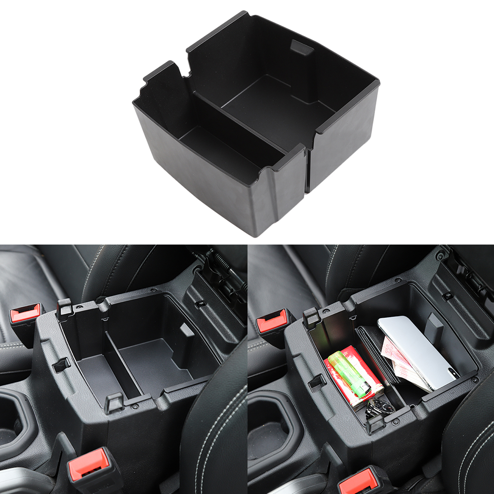Center Console Organizer Tray Armrest Storage Box Fit for Jeep Wrangler JL 2018-2019 Car Accessories(China)