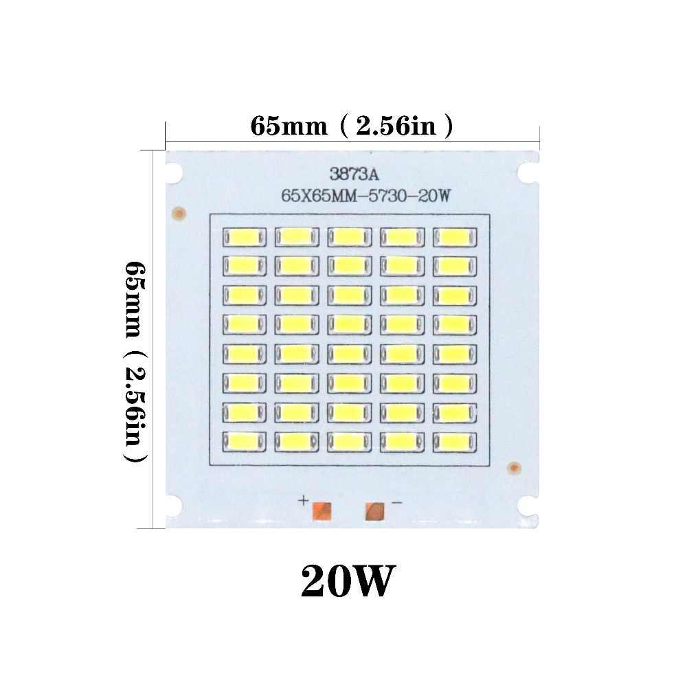 SMD5730 chip led 10W 20W 30W 50W koraliki do lampy wysokiej mocy 120 lm/w inteligentny IC cree led 32-36V do wewnątrz na zewnątrz DIY Kit