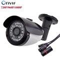 NUEVA Cámara IP 720 P/960 P/1080 P 30 UNIDS LED IR P2P ONVIF Impermeable Al Aire Libre de Metal IP66 Cámara de Vigilancia de Seguridad CCTV