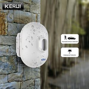 Image 1 - KERUI P861 Mini su geçirmez PIR açık hareket sensörü KERUI kablosuz güvenlik Alarm hırsız alarmı sistemi