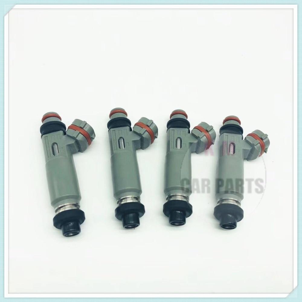 4pcs Fuel Injector Nozzle for TOYOTA Corolla Compact E11 1 6 VVT i 81 kW 110