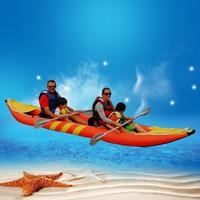 Portable small pvc canoes and kayak sail