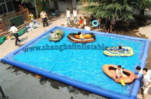 2016 Trinuclear Inflatable Pool Baby font b Swimming b font Pool Outdoor Children Pool High Quality