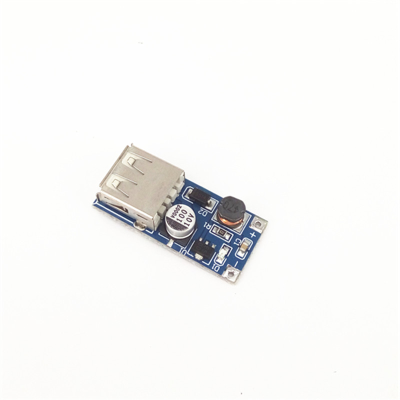 Blue DC-DC USB Output Charger Step Up Power Boost Module 0.9V~5V To 5V 600MA USB Mobile Power Boost Board image