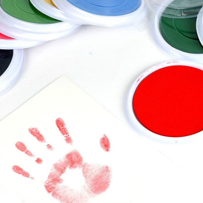 4Colors Children's Finger Print Mud Environmental Protection Drawing Tool For Children Students'graffiti Palms -20