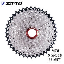 Ztto 9 скорость 11 40t велосипед свободного колеса mtb кассета