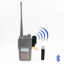 Bluetooth Беспроводной гарнитуры Динамик для KENWOOD TYT HYT Baofeng UV82 UV5R 2 варианта радиолюбитель трансивер Walkie Talkie