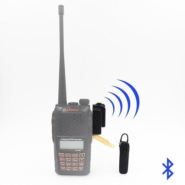 Bluetooth Wireless Headset Earpiece for KENWOOD TYT HYT BAOFENG UV82 ...