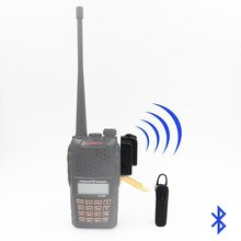 Bluetoothワイヤレスヘッドセット用イヤーピースtyt hyt baofeng uv82 uv5r 2ウェイラジオハムトランシーバトランシーバー