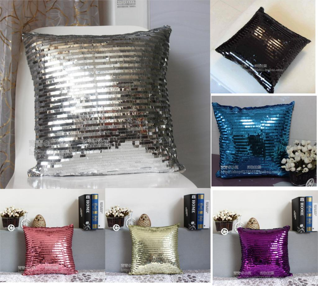 Home Accent Stores: Aliexpress.com : Buy Hot Sale Silver Sequin Throw Pillows