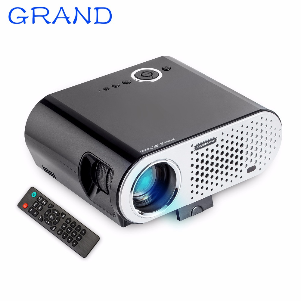 2017 GP90UP Android 4 4 Bluetooth WIFI Projector 1 GB 8 GB 3200 Lumens 1280 800
