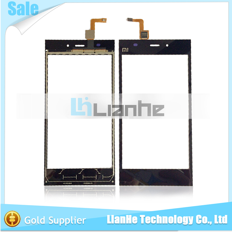 Good Service Factory Price Replacement for Xiaomi 3 Touch Screen With Digitizer Panel Spare Parts Free Shipping