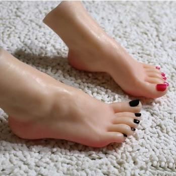 Real Skin Sex Dolls Japanese Masturbation Full Silicone Life Size Fake Feet Foot Fetish Toy Sexy Toys Foot Model