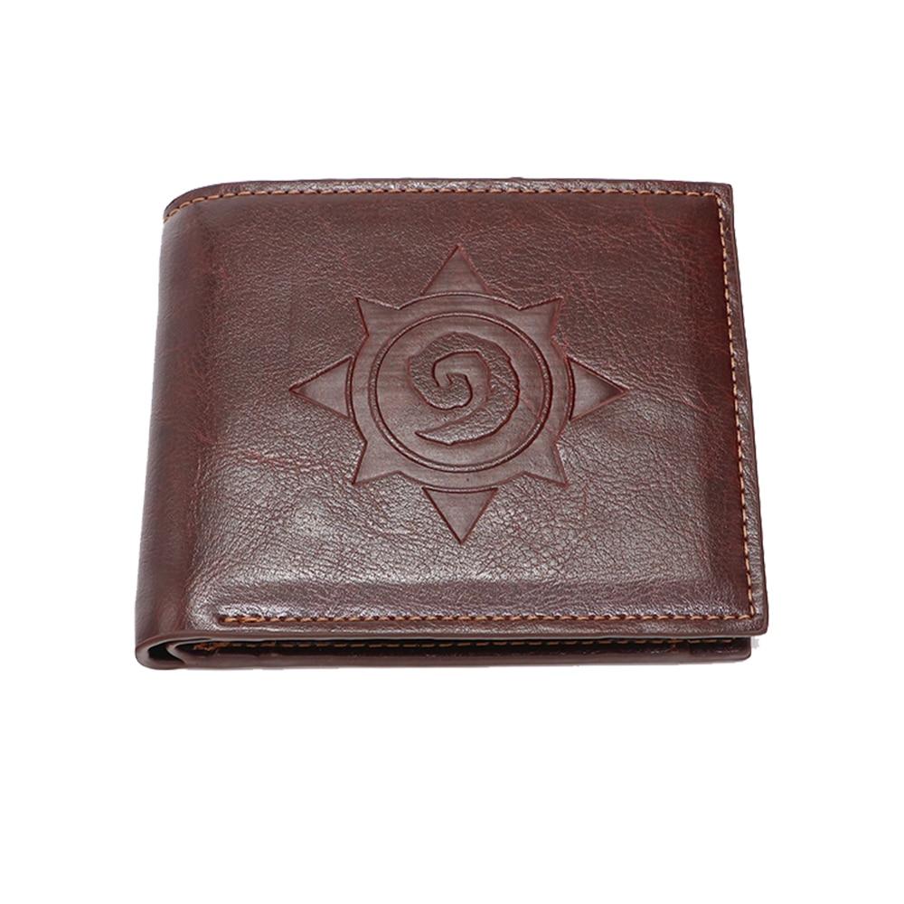 Short Wallet Good-Pickup-Bag Fireplace-Stone Stove-Logo Credit-Card Bag-Quality Game