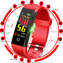 Купить с кэшбэком LIGE Smart Watch Men Heart Rate Blood Pressure Monitor Fitness Tracker Smart Wristband Sports Watch Pedometer Smart Band +Box
